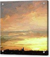 Sunset 092118 1a Acrylic Print