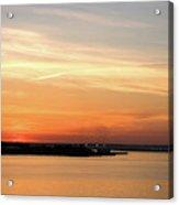 Sunset, Bay Of Palma Acrylic Print