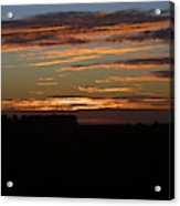 Sunset In Southern Missouri Acrylic Print