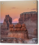 Sunset In Southern Utah Acrylic Print