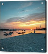 Sunset Looker Acrylic Print