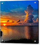Sunset On Cudjoe Bay 8584 Acrylic Print
