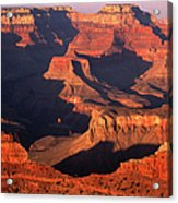 Sunset Over Grand Canyon Acrylic Print