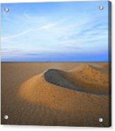 Sunset  Sand Dunes Acrylic Print