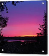 Sunset Summer Acrylic Print