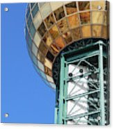 Sunsphere In Knoxville, Tn Acrylic Print
