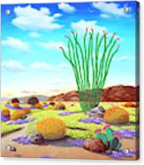 Super Bloom Acrylic Print