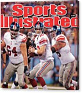 Super Bowl Xlvi... Sports Illustrated Cover Acrylic Print