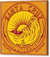 Surfing Santa Cruz California Steamer Lane Acrylic Print