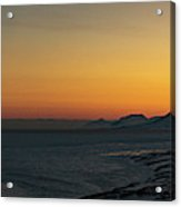 Svalbard During Sunset Acrylic Print
