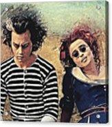 Sweeney Todd And Mrs. Lovett Acrylic Print