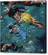 Swimming In The Bahamas Acrylic Print