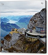 Switzerland, Lucerne, Lake Lucerne Acrylic Print