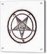 Symbol Of The Occult Acrylic Print