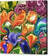 Symphony Of Color Acrylic Print