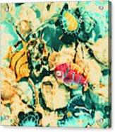 Synthetic Seas Acrylic Print
