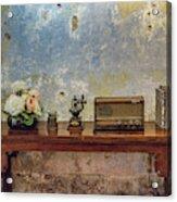 Table Of History Acrylic Print
