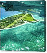 Taking Off From Great Barrier Reef Acrylic Print