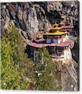 Taktsang Monastery  Acrylic Print