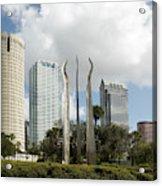 Tampa Skyline, 2007 Acrylic Print