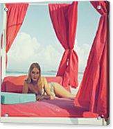 Tania Mallet Acrylic Print