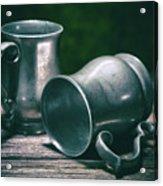 Tankards Acrylic Print