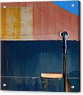 Tanker In Dry Dock Acrylic Print
