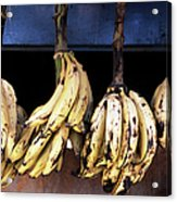 Tanzania, Zanzibar, Bananas For Sale In Acrylic Print