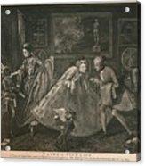 Taste In High Life, 1798 Acrylic Print