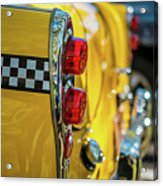 Taxi Tail Light, New York City, New Acrylic Print