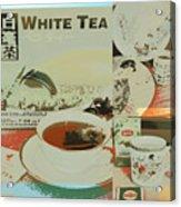 Tea Collage Poster Acrylic Print