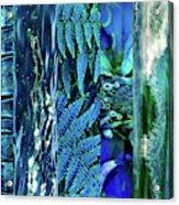 Teal Abstract Acrylic Print