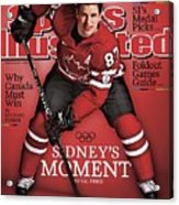 Team Canada Sidney Crosby, 2010 Vancouver Olympic Games Sports Illustrated Cover Acrylic Print