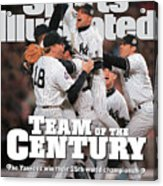 Team Of The Century 1999 World Series Champions Sports Illustrated Cover Acrylic Print