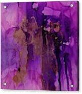Tear In My heart Acrylic Print