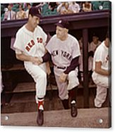 Ted Williams & Casey Stengel Acrylic Print