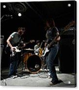 Teenage 14-16 Band Playing Instruments Acrylic Print