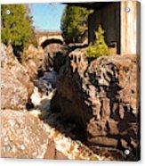 Temperance Bridges Acrylic Print