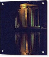 Temple Of Asclepius Acrylic Print