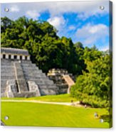 Temple Of The Inscriptions, Palenque Acrylic Print