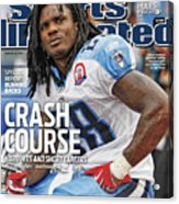 Tennessee Titans Chris Johnson... Sports Illustrated Cover Acrylic Print
