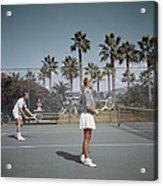 Tennis In San Diego Acrylic Print