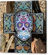 Terlingua Cross Acrylic Print