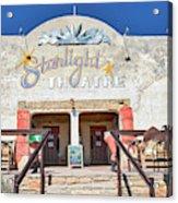 Terlingua Starlight Theatre2 Acrylic Print