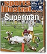 Texas Qb Vince Young, 2006 Rose Bowl Sports Illustrated Cover Acrylic Print