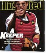 Texas Rangers Ivan Rodriguez Sports Illustrated Cover Acrylic Print