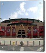 Texas Rangers V Los Angeles Angles Of Acrylic Print