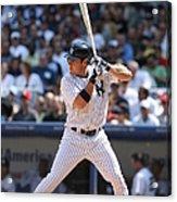 Texas Rangers V New York Yankees Acrylic Print