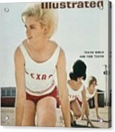 Texas Womens Track Club Sports Illustrated Cover Acrylic Print