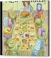 Thankfulness Acrylic Print